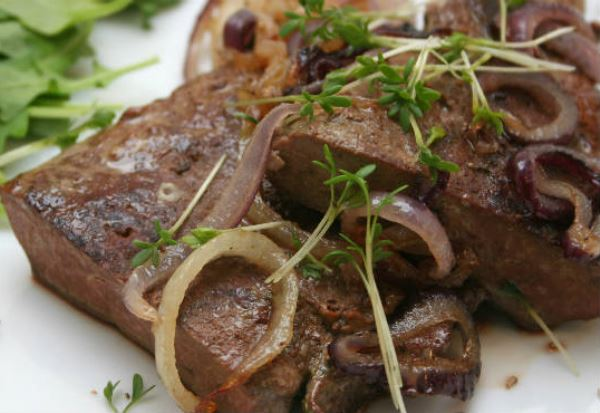 Fígado de boi: uma delícia muito nutritiva