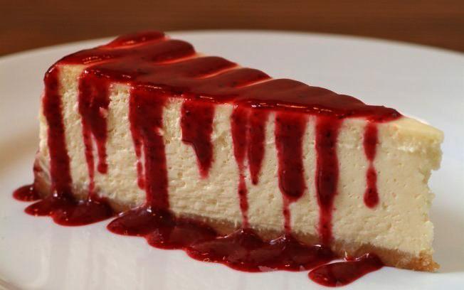 Hoje é comemorado o dia do cheesecake
