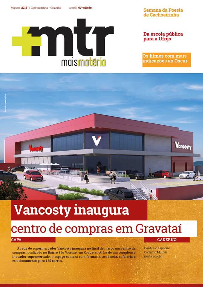 Vancosty é capa na revista +MTR